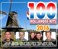 Cover  - 100 Hollandse Hits 2016
