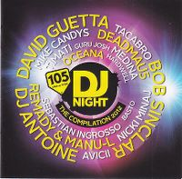 Cover  - 105 DJ Night - The Compilation 2012