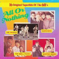 Cover  - 16 Original Superhits Of The 60's - All Or Nothing