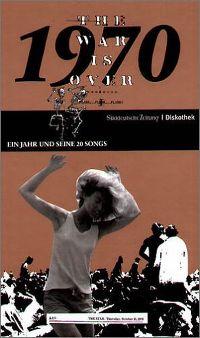 Cover  - 1970 - Ein Jahr und seine 20 Songs (SZ Diskothek)