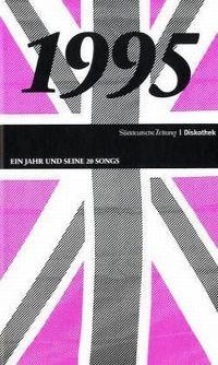 Cover  - 1995 - Ein Jahr und seine 20 Songs (SZ Diskothek)