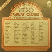 Cover  - 200 Great Oldies I'll Always Remember...