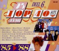 Cover  - 25 Jaar Top 40 Hits Deel 6 '85>'88