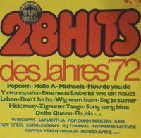 Cover  - 28 Hits des Jahres '72