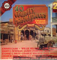 Cover  - 40 Country Masterpieces