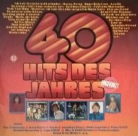 Cover  - 40 Hits des Jahres
