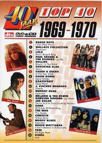 Cover  - 40 jaar Top 40 - 1969-1970