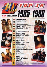 Cover  - 40 jaar Top 40 - 1985-1986