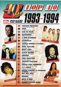Cover  - 40 jaar Top 40 - 1993-1994