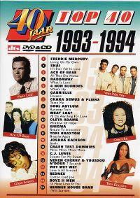 Cover  - 40 jaar Top 40 - 1993-1994