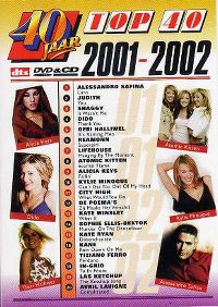 Cover  - 40 jaar Top 40 - 2001-2002