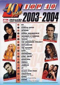 Cover  - 40 jaar Top 40 - 2003-2004