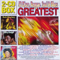 Cover  - 50 Disco, Reggae, Soul & Blues Greatest