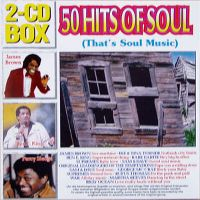 Cover  - 50 Hits Of Soul (That's Soul Music)