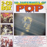 Cover  - 50 Superhits Of Pop Vol. 1