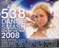 Cover  - 538 Dance Smash - Hits Of The Year 2008