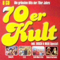 Cover  - 70er Kult - Die grössten Hits der 70er Jahre