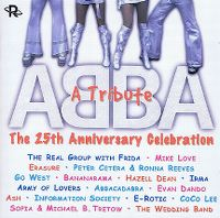 Cover  - ABBA - A Tribute - The 25th Anniversary Celebration