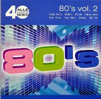 Cover  - Alle 40 goed - 80's vol. 2