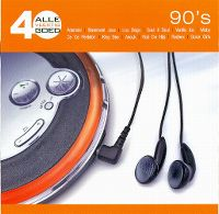 Cover  - Alle 40 goed - 90's
