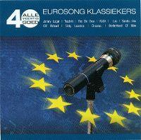 Cover  - Alle 40 goed - Eurosong klassiekers