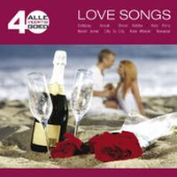 Cover  - Alle 40 goed - Love Songs