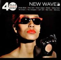Cover  - Alle 40 goed - New Wave vol. 2