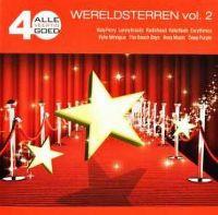 Cover  - Alle 40 goed - Wereldsterren vol. 2
