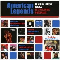 Cover  - American Legends: The Perfect Collection - 20 Original Albums / La discothèque idéale en 20 albums originaux