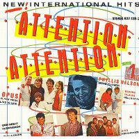 Cover  - Attention Attention - New International Hits