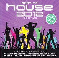 Cover  - Best Of House 2012 - The Hit-Mix