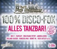 Cover  - Best Of Pop Schlager - 100% Disco-Fox - Alles tanzbar!