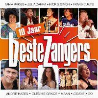 Cover  - Beste zangers 10 jaar