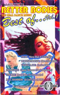 Cover  - Better Bodies - Best Of... Vol. 1