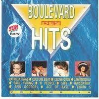 Cover  - Boulevard des hits volume 18