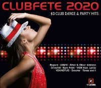 Cover  - Clubfete 2020 - 63 Club Dance & Party Hits