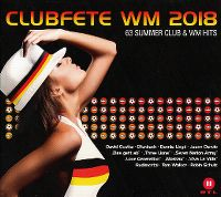 Cover  - Clubfete WM 2018 - 63 Summer Club & WM Hits
