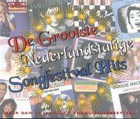 Cover  - De grootste Nederlandstalige Songfestival hits