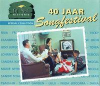 Cover  - De Pré Historie - 40 jaar Songfestival