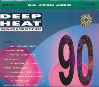 Cover  - Deep Heat 1990 - The Dance Album Of The Year