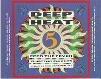 Cover  - Deep Heat 5 - Feed The Fever