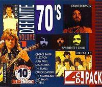 Cover  - Definite 70's Volume 1