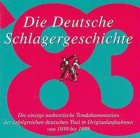 Cover  - Die deutsche Schlagergeschichte 1983