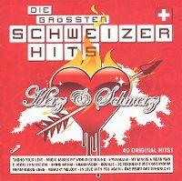 Cover  - Die grössten Schweizer Hits - Herz & Schmerz