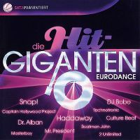 Cover  - Die Hit-Giganten - Eurodance