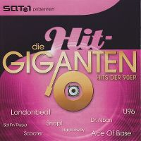 Cover  - Die Hit-Giganten - Hits der 90er