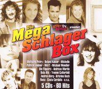 Cover  - Die Mega Schlager Box