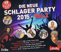 Cover  - Die neue Schlager Party 2015 - Vol.2