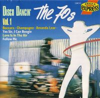 Cover  - Disco Dancin' Vol. 1 The 70s