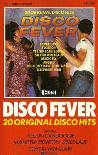 Cover  - Disco Fever - 20 Original Disco Hits